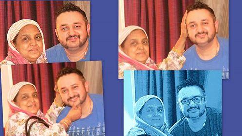 Nanhe Miyaan With Client Super Music Composer Sajid Wajid's Mom.Love Me Love Me Love Me Your Mama Says She Love Me