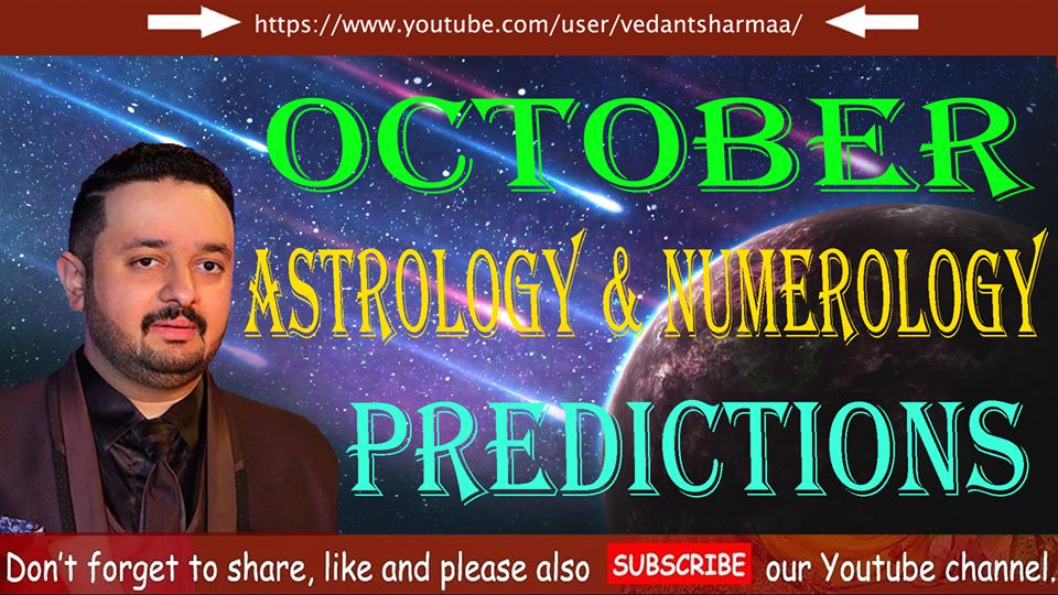 October Numerology Astrology Predictions 2018 ! (Navratri Special Pooja) Remedies Motivational Video