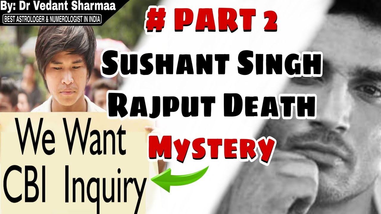 Breaking News Sushant Singh Rajput Death Mystery Part 2